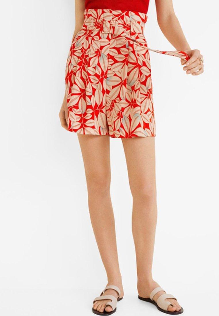 Mango - EVITAP - Shorts - red
