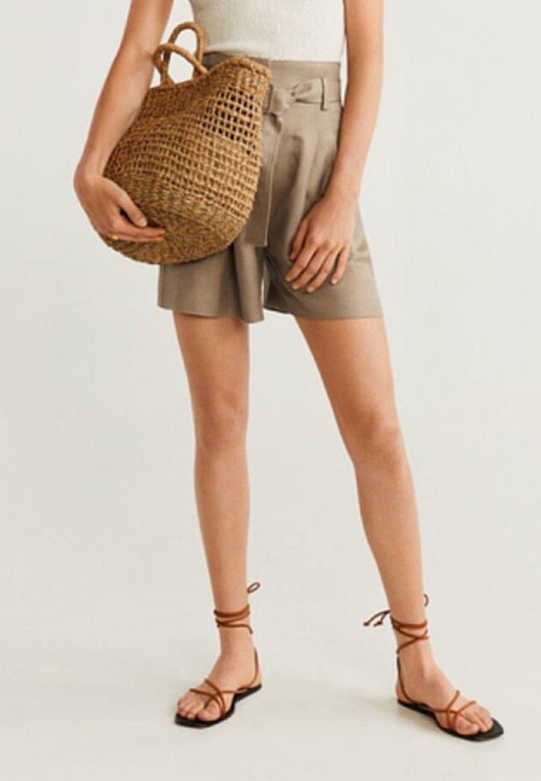 Mango - EVITA - Shorts - sand