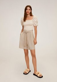 Mango - MAR - Shorts - beige - 1
