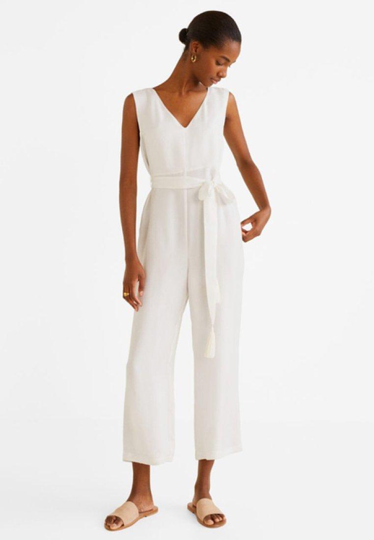 Mango - RICO - Jumpsuit - white
