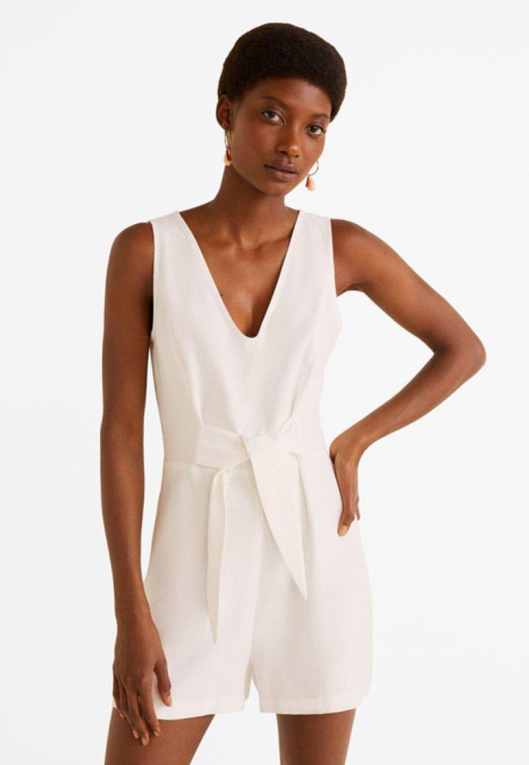 Mango - BOWIE - Jumpsuit - creamy white