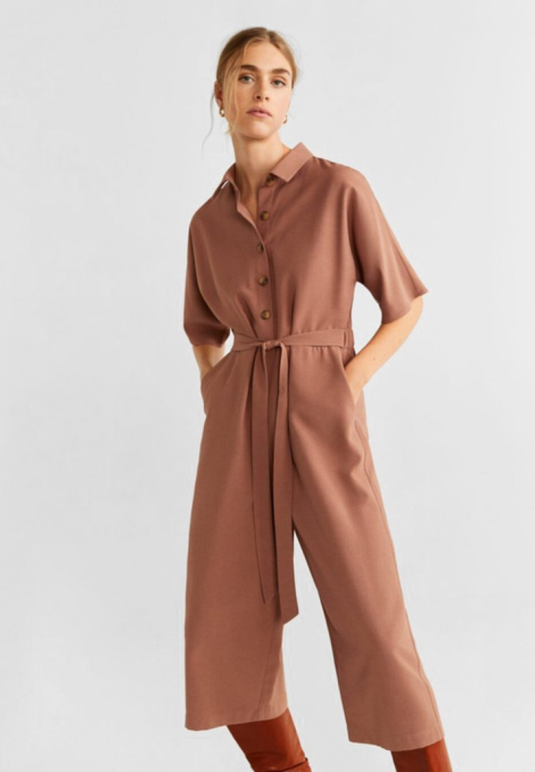 Mango - FREDDY-H - Jumpsuit - brown