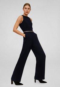 Mango - CAREYU - Jumpsuit - black - 1