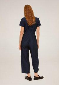 Mango - NAT - Tuta jumpsuit - dunkles marineblau - 1