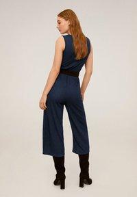 Mango - WAVE - Tuta jumpsuit - donkermarine - 2
