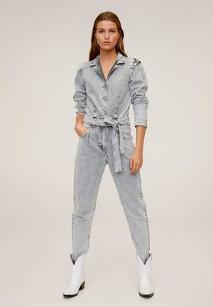 ACID - Jumpsuit - denim grau
