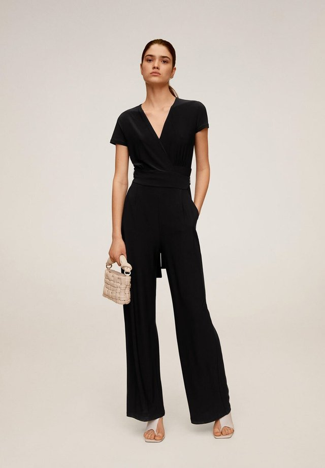 PALM6 - Overall / Jumpsuit - schwarz