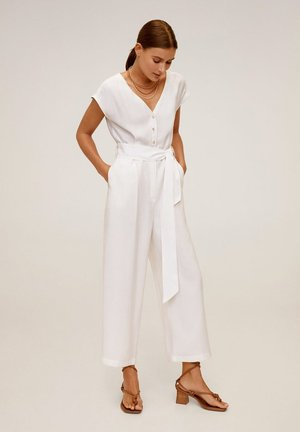 HAMPTONS - Overall / Jumpsuit /Buksedragter - cremeweiß