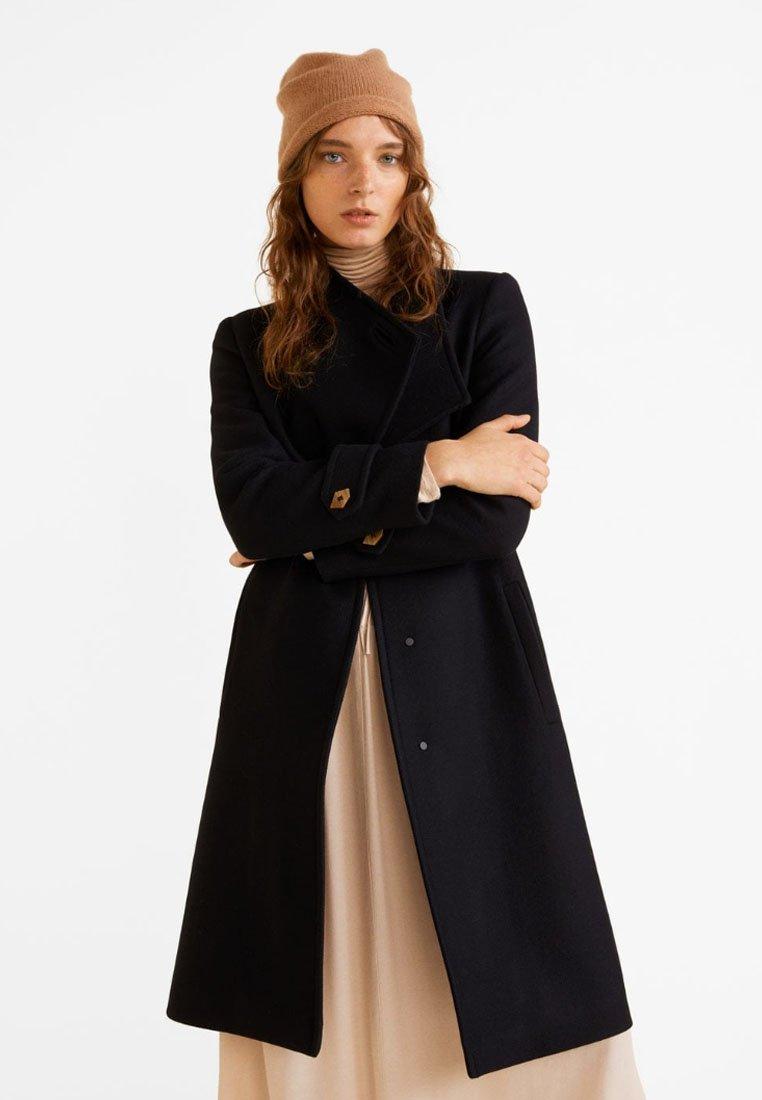 Mango - LUNA - Classic coat - black