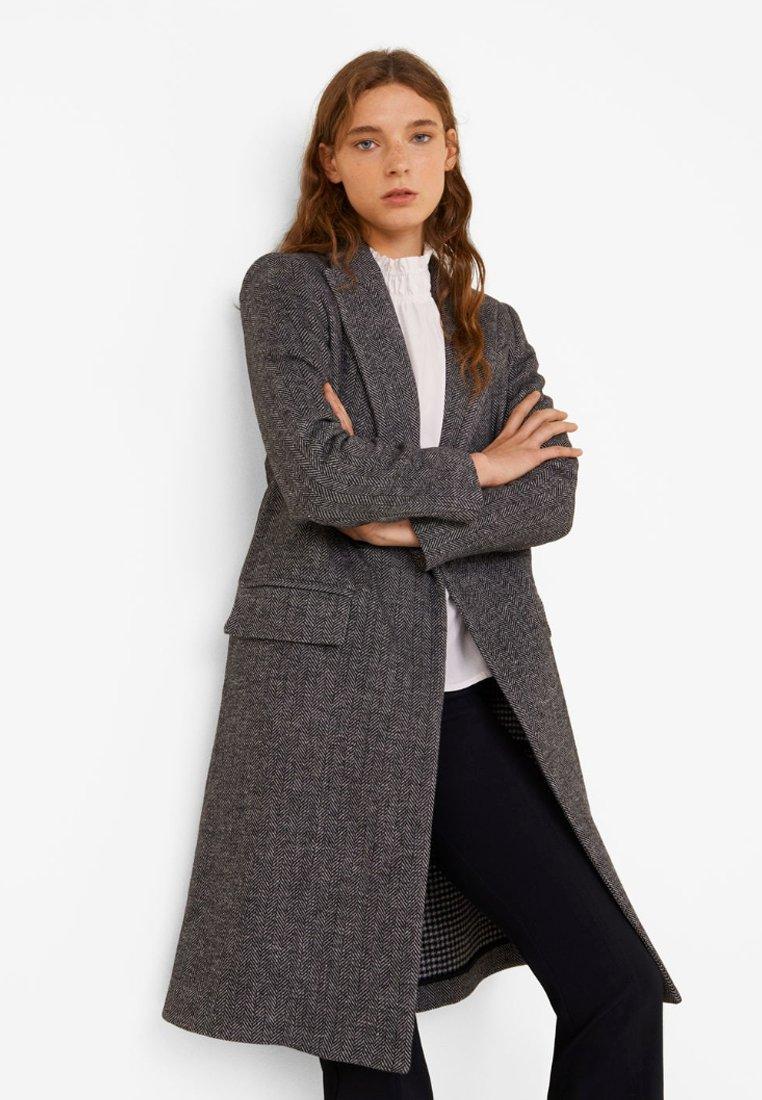 Mango - NAVIGLI - Classic coat - black
