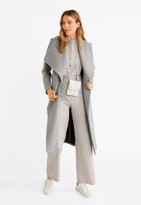 Mango - BARTO - Classic coat - mottled light grey - 1