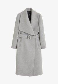 Mango - BARTO - Classic coat - mottled light grey - 7