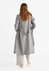 Mango - BARTO - Classic coat - mottled light grey - 2