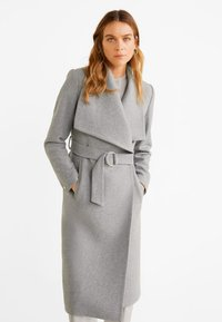 Mango - BARTO - Classic coat - mottled light grey - 0