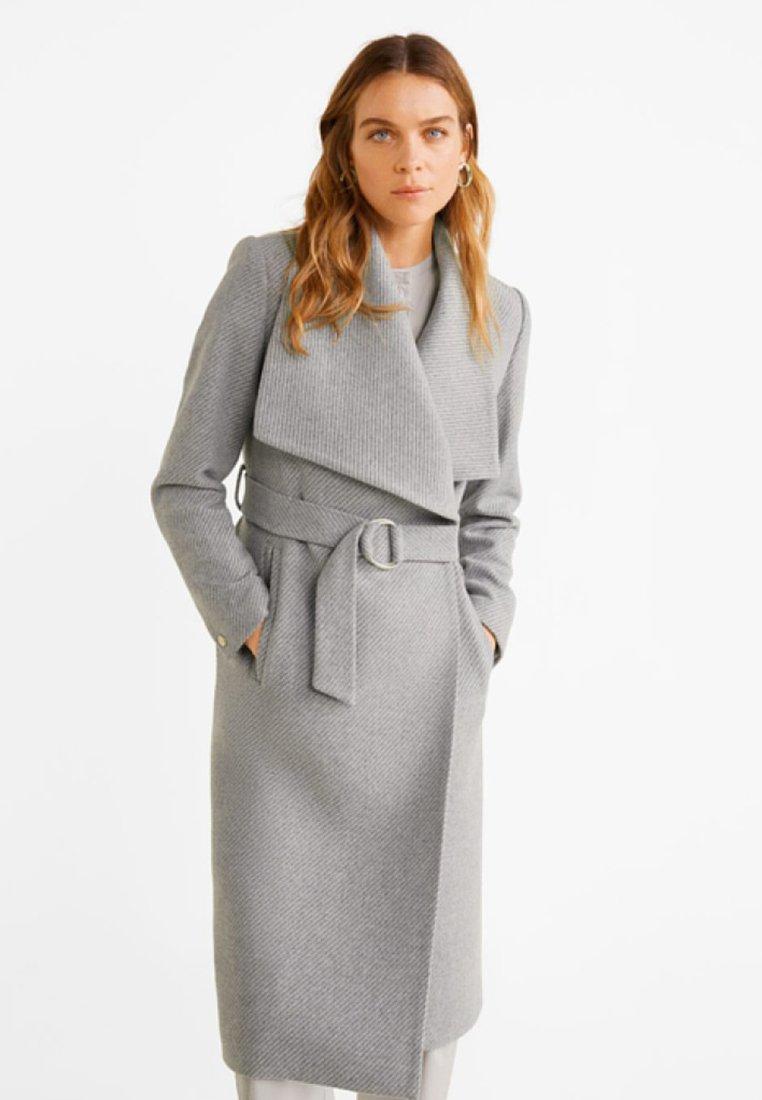 Mango - BARTO - Classic coat - mottled light grey