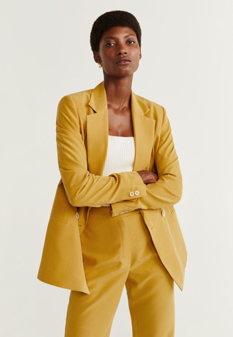 Mango - TEMPO - Blazer - mustard