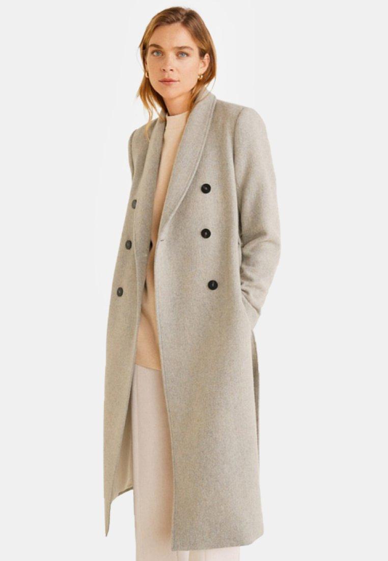 Mango - MAGGIE - Frakker / klassisk frakker - mottled grey