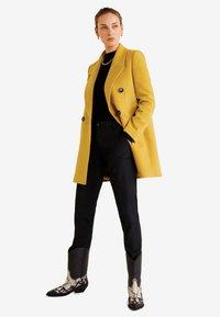 Mango - ROCK - Cappotto corto - mustard yellow - 1