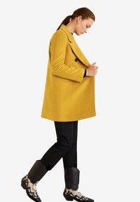 Mango - ROCK - Cappotto corto - mustard yellow - 3