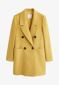 Mango - ROCK - Cappotto corto - mustard yellow - 6