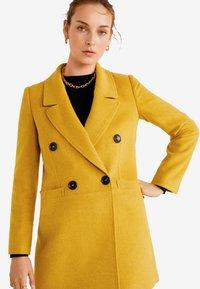 Mango - ROCK - Cappotto corto - mustard yellow - 4