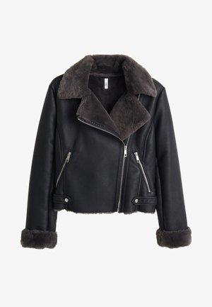 CADI - Faux leather jacket - black