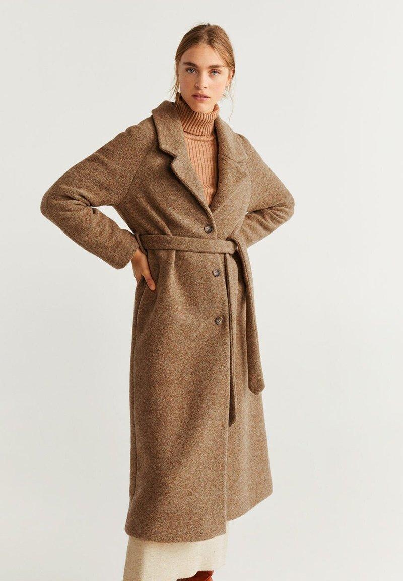 Mango - LISI - Classic coat - caramel