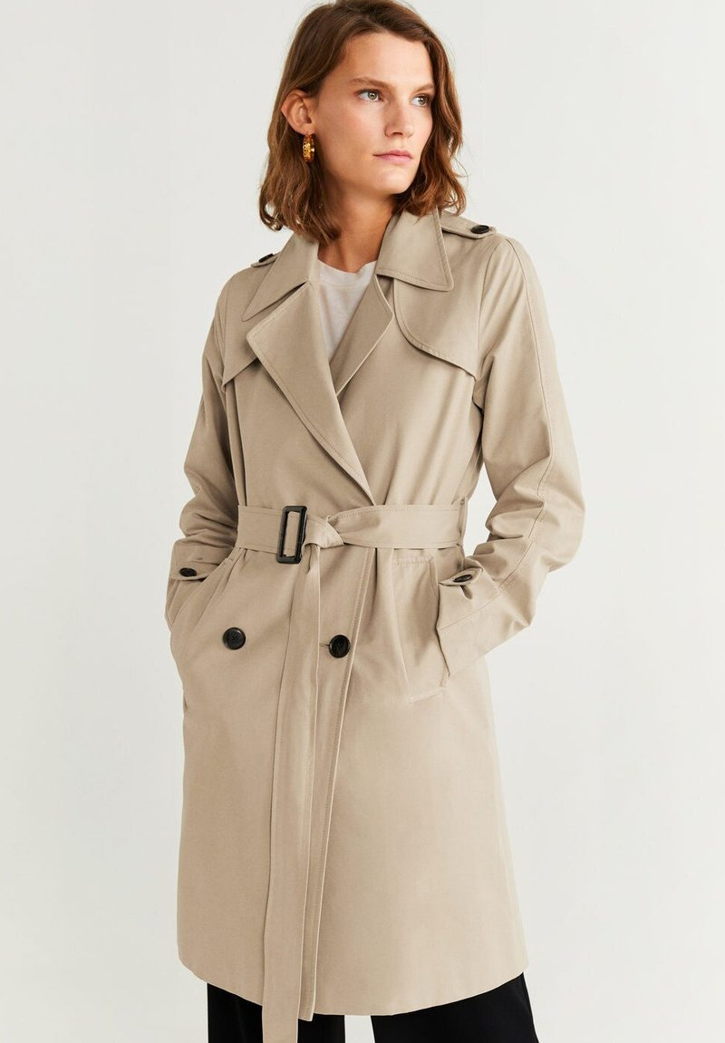 Mango - CONAN - Trenchcoat - light grey