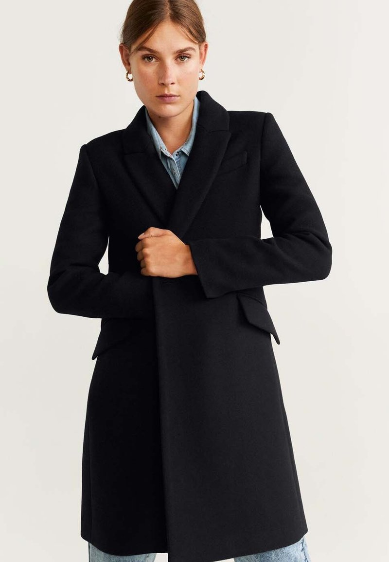 Mango - DALI - Manteau court - black