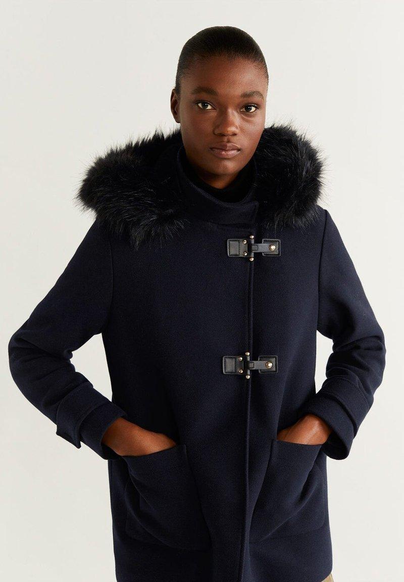 Mango - SHORPERK - Winter jacket - dark navy/blue