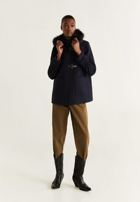 Mango - SHORPERK - Winter jacket - dark navy/blue - 1