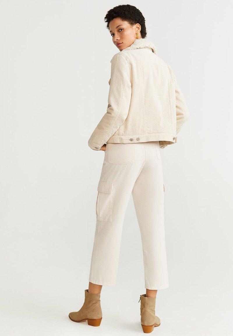 Mango - TINTIN - Light jacket - cream white