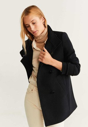 PEARL - Manteau court - black