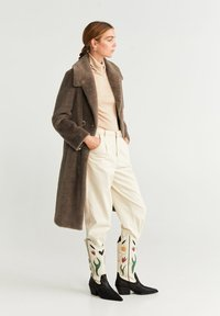 Mango - VINTAGE - Classic coat - medium brown - 1
