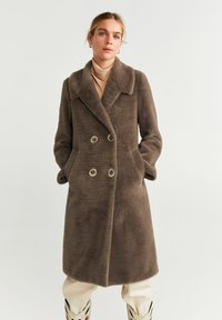Mango - VINTAGE - Classic coat - medium brown - 0