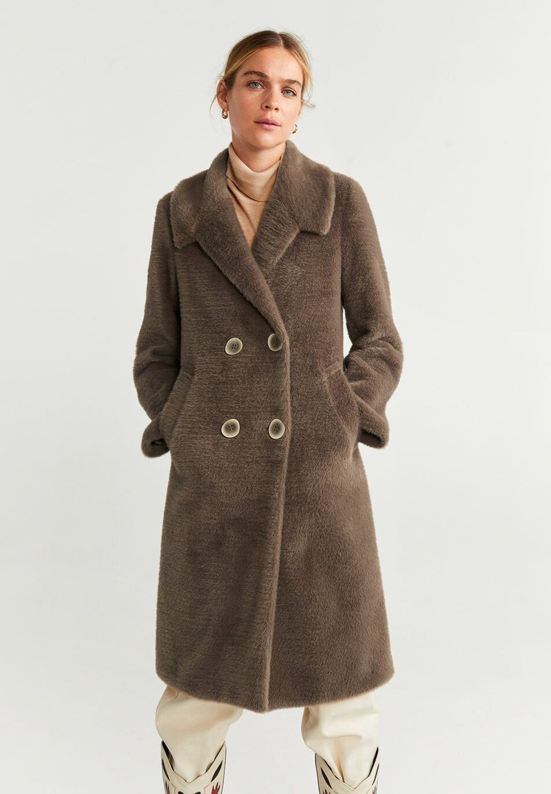 Mango - VINTAGE - Classic coat - medium brown