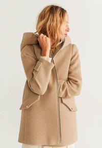 Mango - AUDREY - Short coat - beige - 0