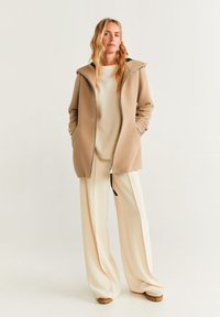 Mango - AUDREY - Short coat - beige - 1