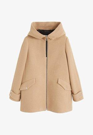 AUDREY - Short coat - beige