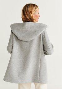 Mango - AUDREY - Krótki płaszcz - mottled grey - 2