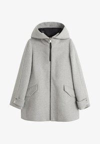 Mango - AUDREY - Krótki płaszcz - mottled grey - 3