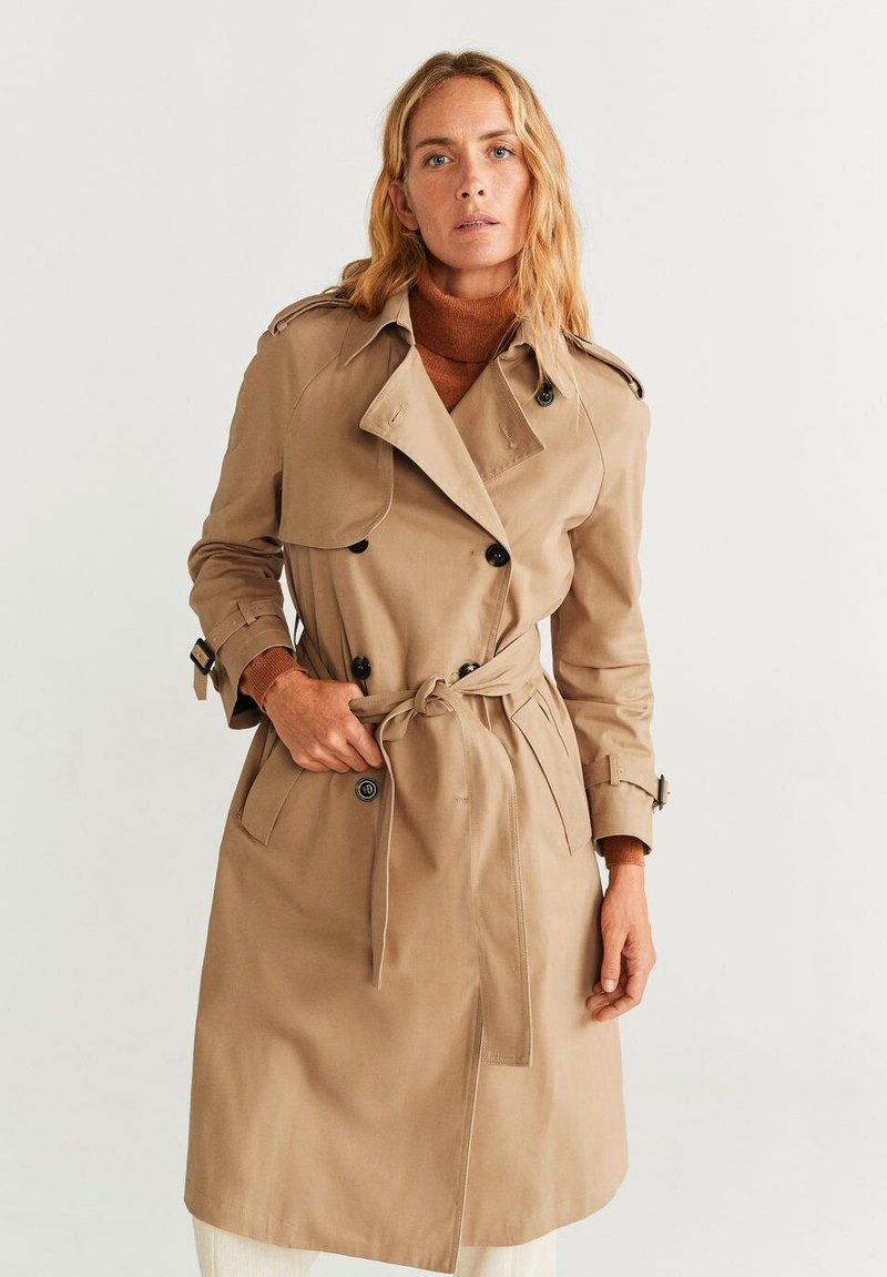 Mango - LISBON - Trenchcoat - medium brown