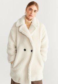 Mango - SHORTBOX - Winter coat - Cream white - 0