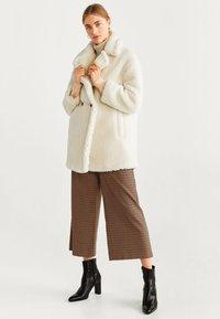 Mango - SHORTBOX - Winter coat - Cream white - 1