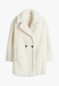 Mango - SHORTBOX - Winter coat - Cream white - 3
