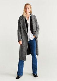 Mango - TWIN - Classic coat - grey - 1