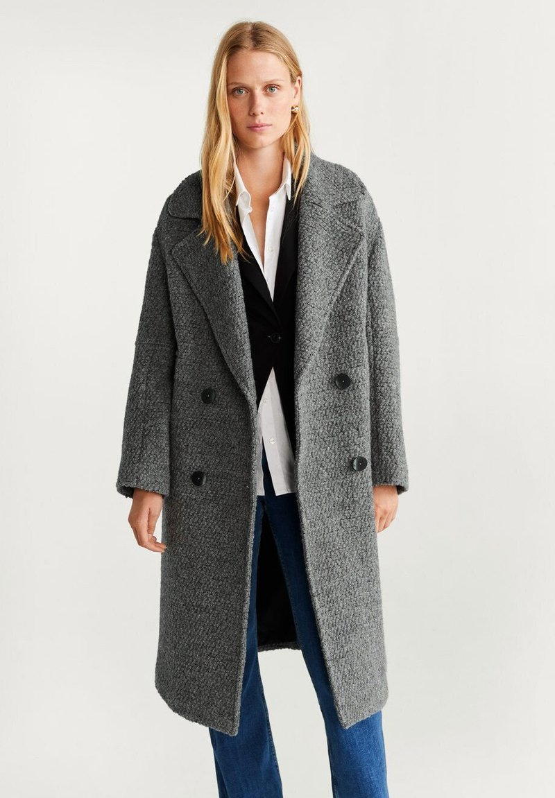 Mango - TWIN - Classic coat - grey