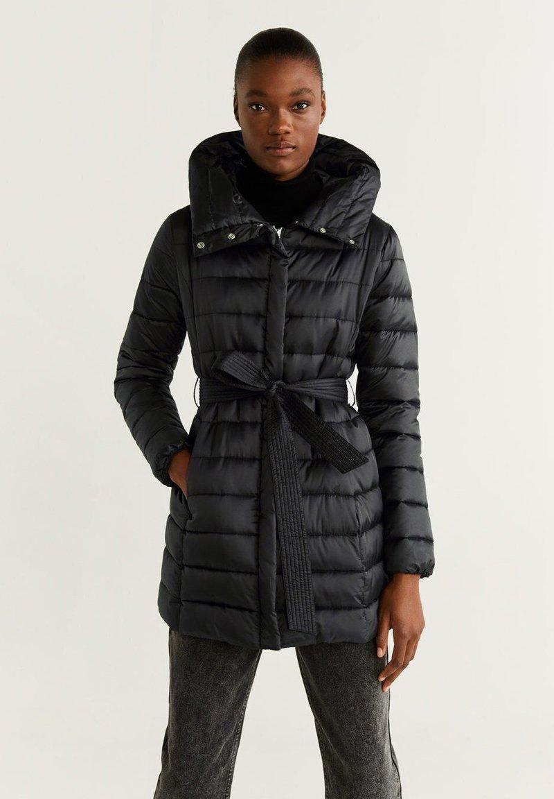 Mango - MARAIS - Winter coat - black