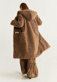 Mango - RENNE - Płaszcz zimowy - camel - 2