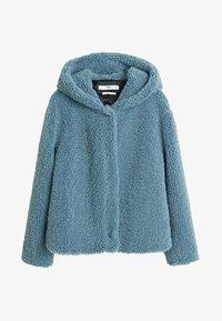 Mango - BRIE - Fleece jacket - blue - 3